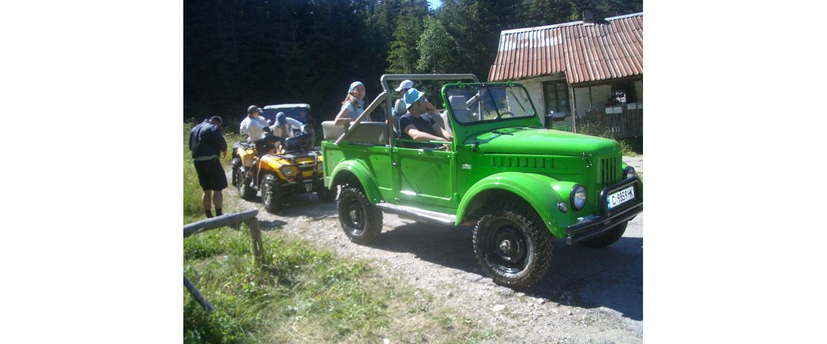 Jeep safari Borovets